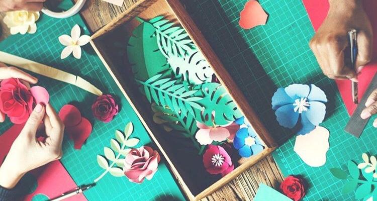 Feb 2018 Meeting: Paper Cut Card making