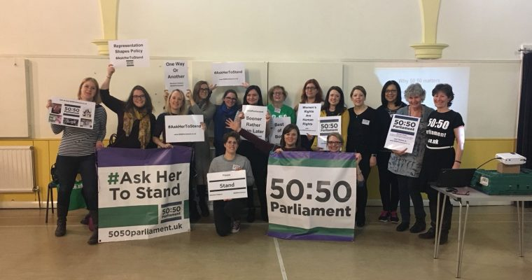 Ask Her to Stand: Five fast facts on Parliamentary gender imbalance and the path to progress