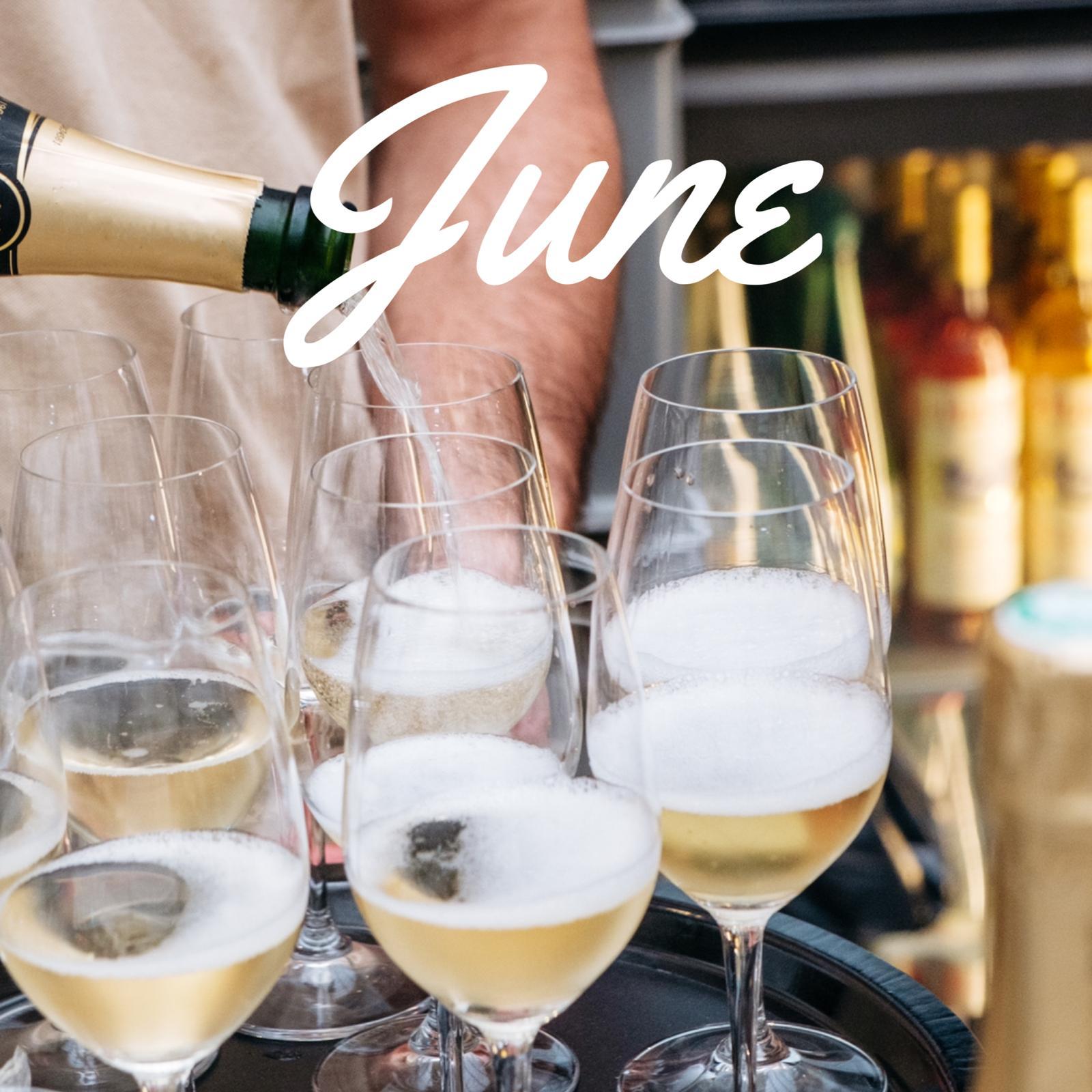 June 2020 meeting: Fizz tasting