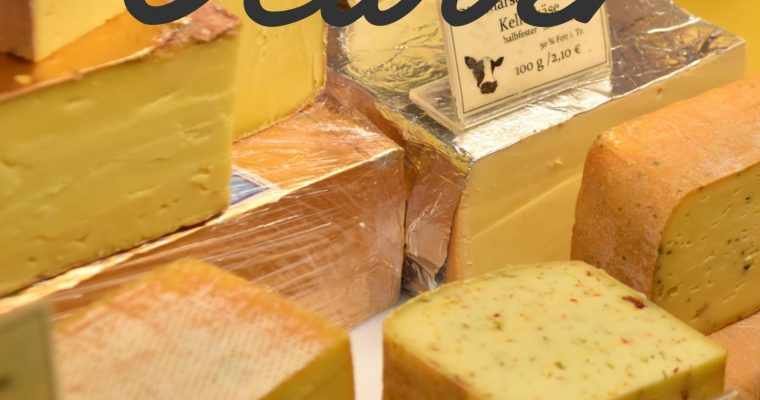 Oct 2020 meeting: Cheese tasting