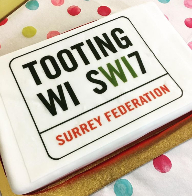 Tooting WI turns One!