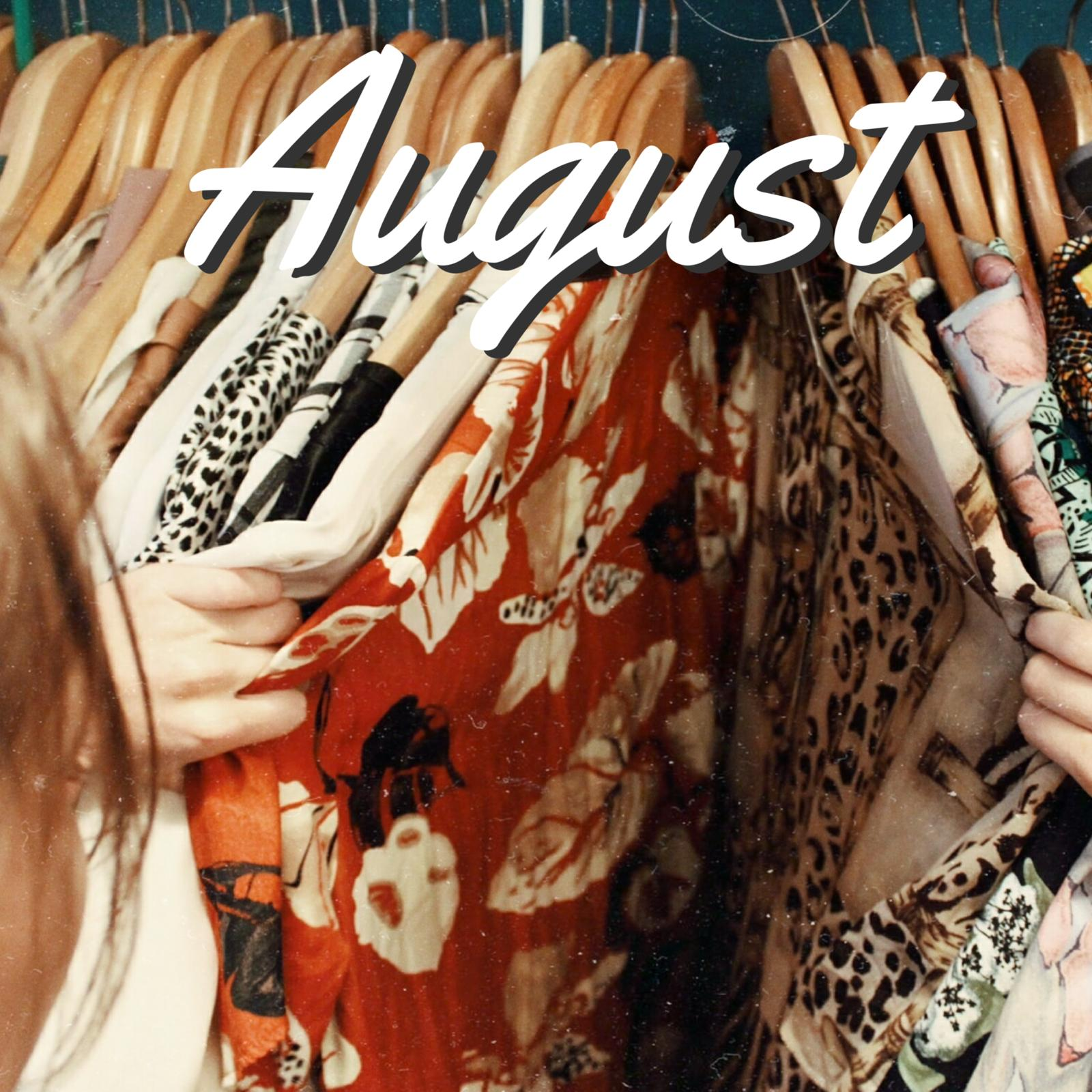 Aug 2020 Meeting:Style it out & clothes swap
