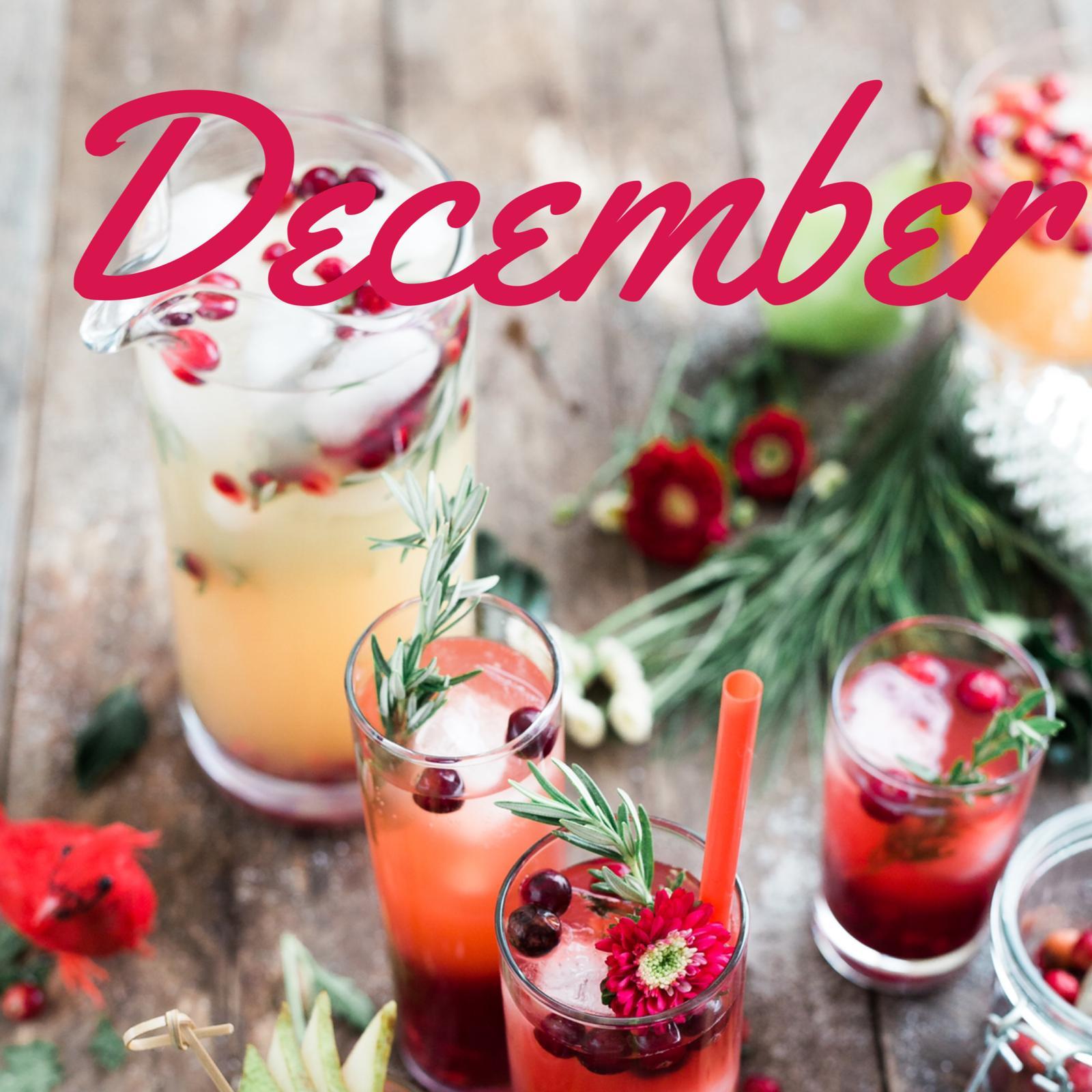 Dec 2020 meeting: Christmas crafts & cocktails